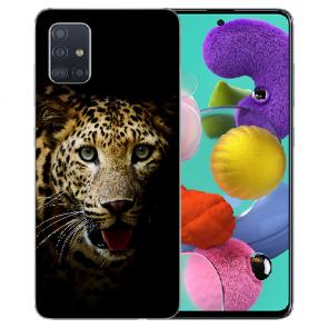Samsung Galaxy Note 10 lite Silikon Schutzhülle TPU mit Leopard Bilddruck