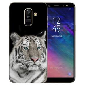 Samsung Galaxy J6 (2018) Silikon TPU Hülle mit Bilddruck Tiger