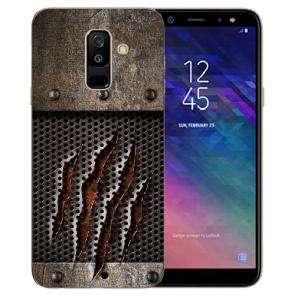Samsung Galaxy A6 Plus 2018 TPU Hülle mit Bilddruck Monster-Kralle