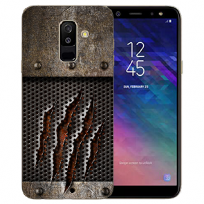 Samsung Galaxy J6 Plus (2018) TPU Hülle mit Bilddruck Monster-Kralle