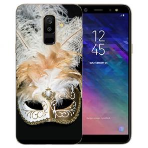 Samsung Galaxy J6 + (2018) TPU Hülle mit Bilddruck Venedig Maske