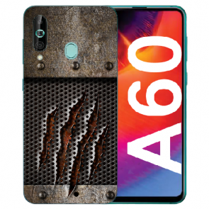 Samsung Galaxy A60 Silikon TPU Hülle mit Fotodruck Monster-Kralle