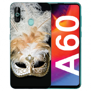 Samsung Galaxy A60 Silikon TPU Hülle mit Fotodruck Venedig Maske