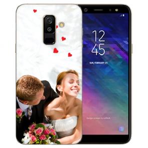 Samsung Galaxy A6 Plus Silikon Schutzhülle TPU Case mit Foto Bilddruck