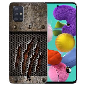 Samsung Galaxy A71 Silikon TPU Hülle mit Fotodruck Monster-Kralle