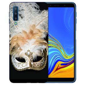 Samsung Galaxy A7 (2018) TPU Hülle mit Fotodruck Venedig Maske