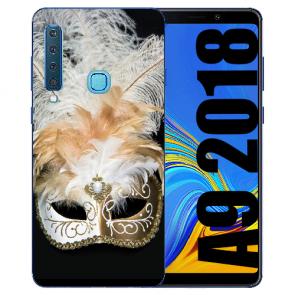 Samsung Galaxy A9 (2018) TPU Hülle mit Bilddruck Venedig Maske