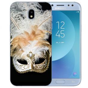 Samsung Galaxy J3 (2017) Silikon Hülle mit Fotodruck Venedig Maske