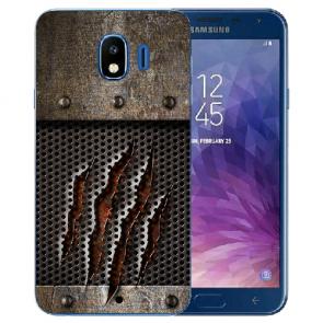Samsung Galaxy J4 (2018) Silikon TPU Hülle mit Fotodruck Monster-Kralle