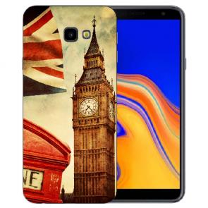 Samsung Galaxy J4 Plus (2018) Silikon Hülle mit Fotodruck Big Ben London