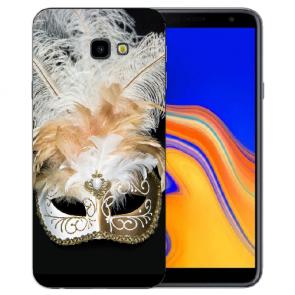 Samsung Galaxy J4 Plus (2018) Silikon Hülle mit Fotodruck Venedig Maske