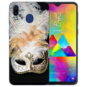 Samsung Galaxy M20 Silikon TPU Hülle mit Fotodruck Venedig Maske