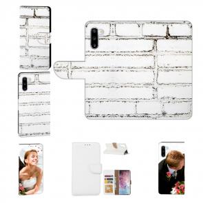 Samsung Galaxy Note 10 Personalisierte Handy Hülle mit Weiße Mauer Fotodruck