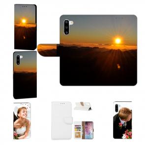 Handy Hülle mit Fotodruck Sonnenaufgang für Samsung Galaxy Note 10