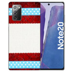 Silikon TPU Hülle mit Bilddruck Muster für Samsung Galaxy Note 20