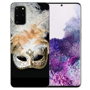 Samsung Galaxy S20 Silikon TPU Hülle mit Venedig Maske Bilddruck