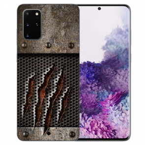 Samsung Galaxy S20 Plus Silikon TPU Hülle mit Bilddruck Monster-Kralle