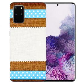TPU Silikon Hülle mit Bilddruck Muster für Samsung Galaxy S20 FE
