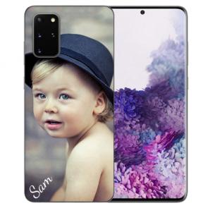 Samsung Galaxy S20 Plus Silikon Schutzhülle TPU Case mit Foto Bilddruck