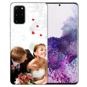Samsung Galaxy S20 Silikon Schutzhülle TPU Case mit Foto Bilddruck