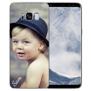 Handyhülle für Samsung Galaxy S8 mit Foto
