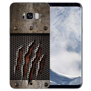 Samsung Galaxy S8 Plus 0,8mm TPU-Silikon mit Monster-Kralle Bilddruck