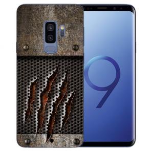 Samsung Galaxy S9 Plus TPU Silikon mit Monster-Kralle Bilddruck
