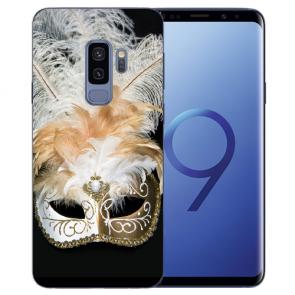 Samsung Galaxy S9 Plus TPU Silikon mit Venedig Maske Bilddruck