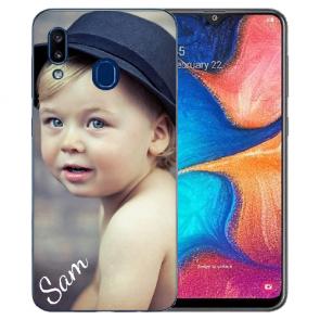 Samsung Galaxy A20 Silikon TPU Case Schutzhülle mit Foto Bilddruck