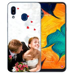 Samsung Galaxy A30 Silikon TPU Case Schutzhülle mit Foto Bilddruck