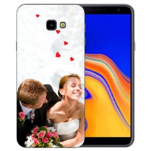 Samsung Galaxy J4 + 2018 Silikon TPU Case Schutzhülle mit Foto Druck