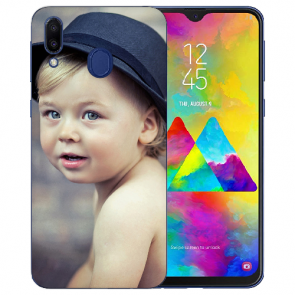 Samsung Galaxy M20 Silikon TPU Case Schutzhülle mit Foto Druck