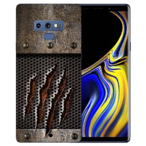 Samsung Galaxy Note 9 Silikon TPU Hülle mit Bilddruck Monster-Kralle
