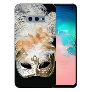 Silikon TPU Hülle für Samsung Galaxy S10e mit Bilddruck Venedig Maske
