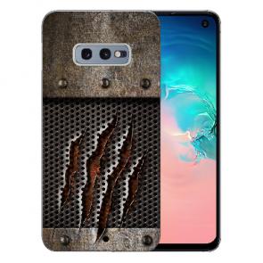Samsung Galaxy S10e Silikon TPU Hülle mit Fotodruck Monster-Kralle