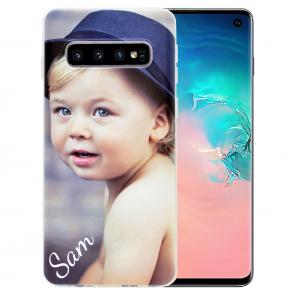 Handyhülle für Samsung Galaxy S10 mit Foto