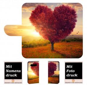 Handyhülle für Samsung Galaxy S10 Plus mit Herzbaum + Bilddruck