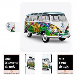 Personalisierte Handyhülle für Samsung Galaxy Xcover 4 mit Hippie Bus Bilddruck