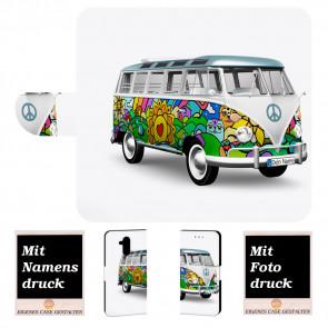 Handyhülle mit Hippie Bus Bilddruck für Huawei Mate 20 Lite