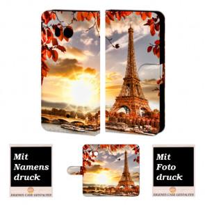 HTC U11 Personalisierte Handyhülle mit Foto Druck Eiffelturm
