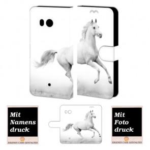Individuelle Handyhülle Tasche für HTC U11 mit Pferd Bilddruck