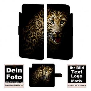 Ledertasche für HTC Desire 820 mit Foto und Text zum selbst gestalten