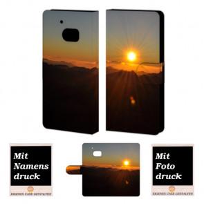 HTC M10 Sonnenaufgang Handy Tasche Hülle Foto Bild Druck