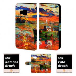 HTC One M9 Gemälde Handy Tasche Hülle Foto Bild Druck