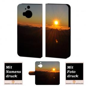 HTC One M9 Plus Sonnenaufgang Handy Tasche Hülle Foto Bild Druck