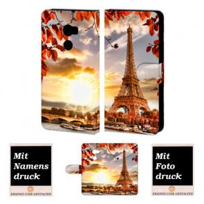 HTC One X10 Individuelle Handyhüllen mit Bilddruck Eiffelturm