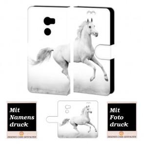 HTC One X10 Individuelle Handyhülle mit Bild Druck Pferd