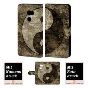 HTC One X10 Personalisierte Tasche mit Fotodruck Yin Yang