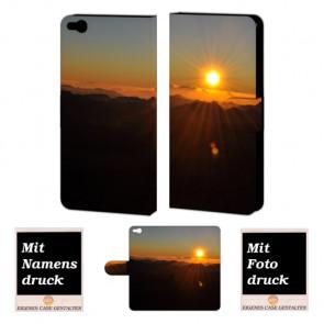 HTC One X9 Sonnenaufgang Handy Tasche Hülle Foto Bild Druck