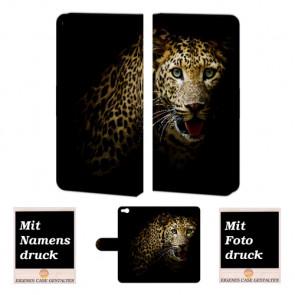 HTC One X9 Tiger Handy Tasche Hülle Foto Bild Druck